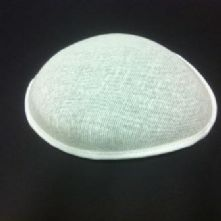 White Teardrop Buckram Hat Base